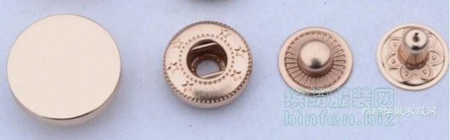 金属四合扣之831/655/633/201/203型按扣的种类用途