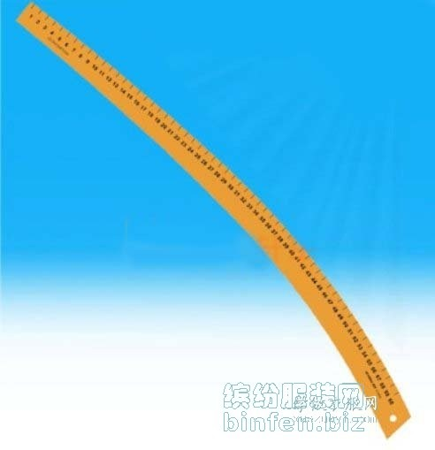 袖弯尺的正确用法|服装打版如何使用袖窿尺|大刀尺画裁剪图