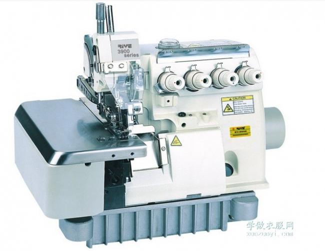 包缝机、锁边机、密拷机、波边机的区别和做出的不同效果