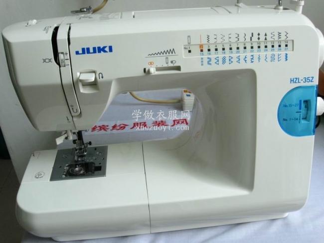 详解缝纫机面线穿线装置原理,学会正确穿针,从此不再穿错线