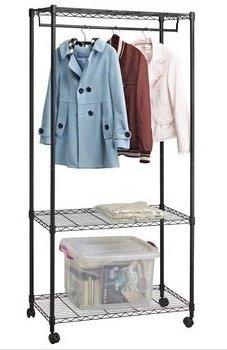 放弃笨重的木衣柜,服装缝纫工作间起用收纳盒