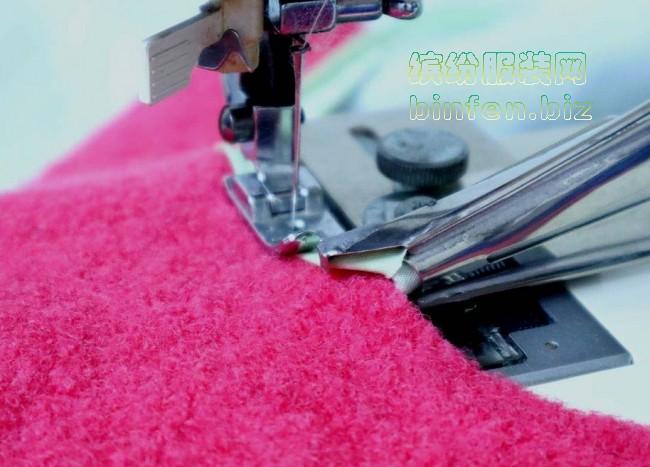 把工业平车包边压脚/拉筒完美安装在家用缝纫机上