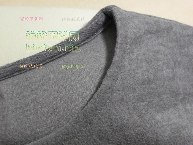 初级21:微弹薄针织羊毛女装保暖衫2-裁布和缝制