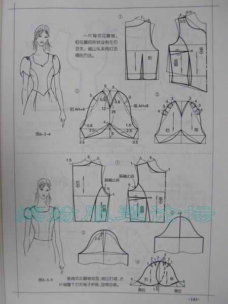 服装裁剪实用手册-袖型篇