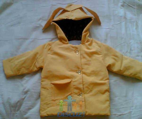 拆太空棉被子和旧衣服给宝宝做的棉衣外套,全手工缝的