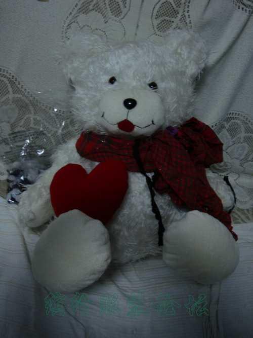 我仿做的笑嘴小熊,跟原版玩具熊宝宝对比哈哈