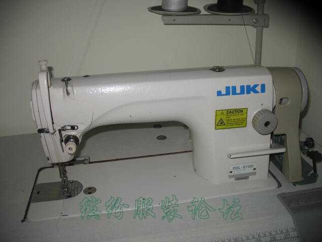 1200元买了二手工业平车重机JUKI8700,特皮实好用