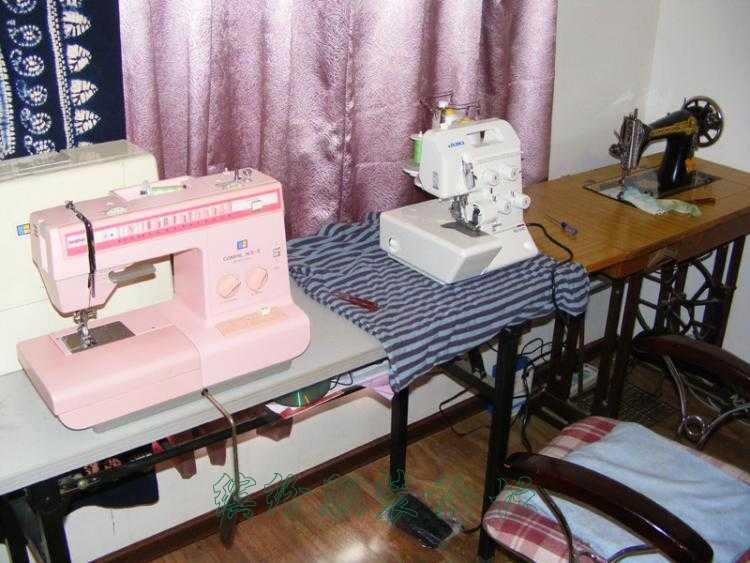 晒一下我的缝纫机和工作间