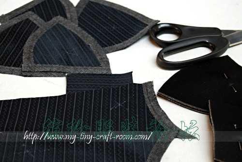 时装DIY – 黑色诱惑 (胸罩)