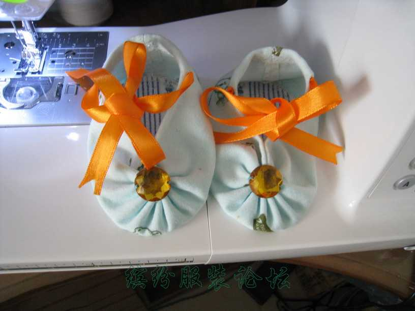 夏天婴儿鞋--蒲包鞋(豆渣饼鞋)制作方法(鞋样图在14楼)