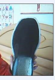 给弟弟做的布鞋和鞋垫