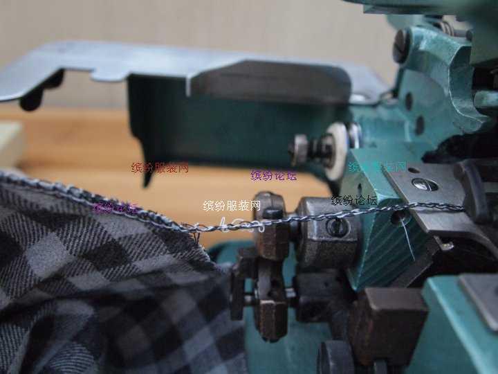 绝对新手与包缝机的第一次亲密接触(蜻蜓GN1-114D初试机全过程记录)
