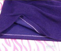 衣服边缘的锁链线迹是用什么缝纫机做的?