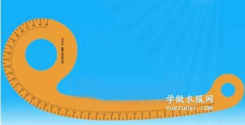6字尺的正确用法|如何使用逗号/曲线尺做服装裁剪图