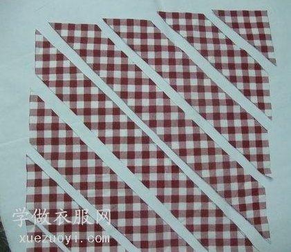 针织T恤童装的领口包边条是自己裁的吗?面辅料市场有买的吗?