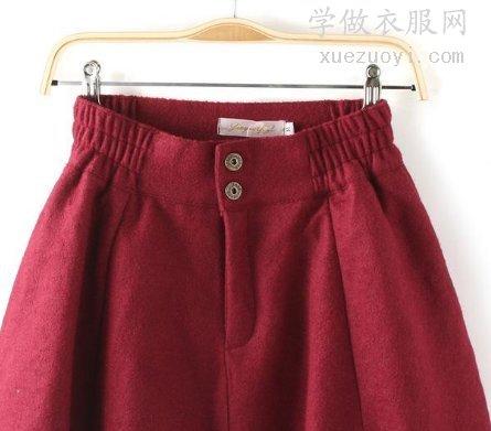 裤腰或裙腰两侧的松紧带是怎么做的?有什么车缝技巧?