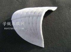 垫肩/假肩在服装上的作用和缝制安装方法