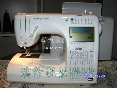 我的新玩具:二手日本原装重机HZL-1000家用缝纫机