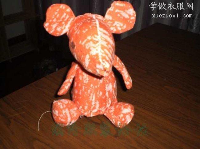 给宝宝做的玩具老鼠,小熊,布艺南瓜篮子收纳盒
