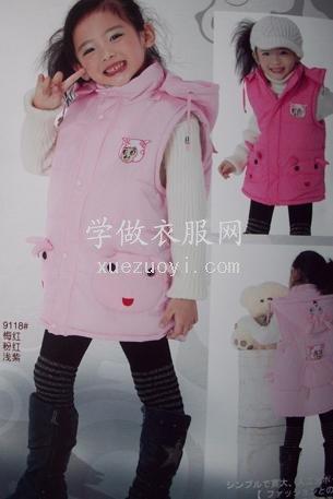 想做件宝宝棉坎肩,参照大衣原型打版行吗?袖窿怎么画?