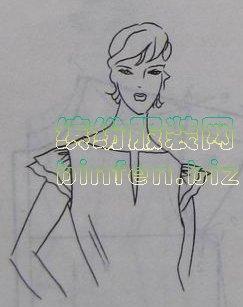 肩头遮一点的半截小片盖肩袖的打版和裁剪方法