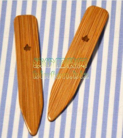 高档男衬衫的领撑条/领角上的塑料插片