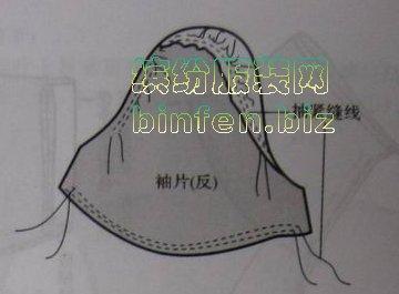 女装童装泡泡袖子的缝制方法详细步骤