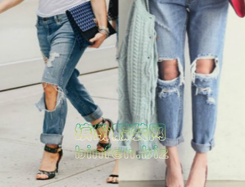 谁喜欢穿破洞牛仔裤?特别破的能接受吗?