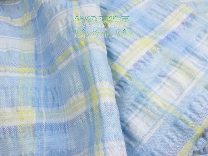 泡泡纱是棉布做出来的吗?可用来做什么衣服?